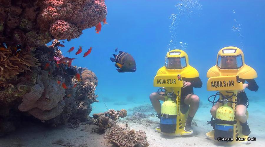 Promo Terbaru!! Paket Murah Scooter Underwater Bersama Aquastar Bali, Pesan Online Lebih Hemat!!