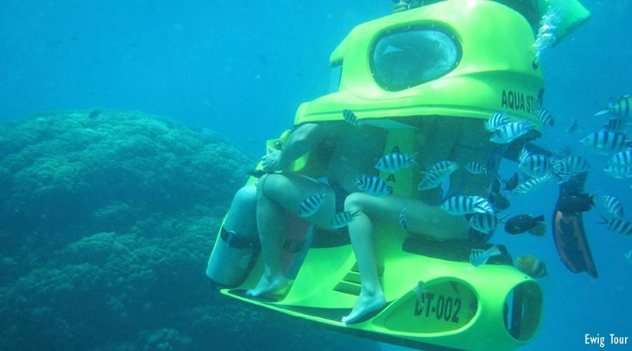 Penawaran Terbaik Aquastar Bali! Promo Paket Scooter Underwater Tanjung Benoa, Yuk Nikmati Keseruannya!