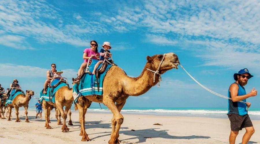 Promo Bali Camel Safaris, Berwisata Naik Unta di Pantai Nusa Dua Bersama Bali Camel Safaris!