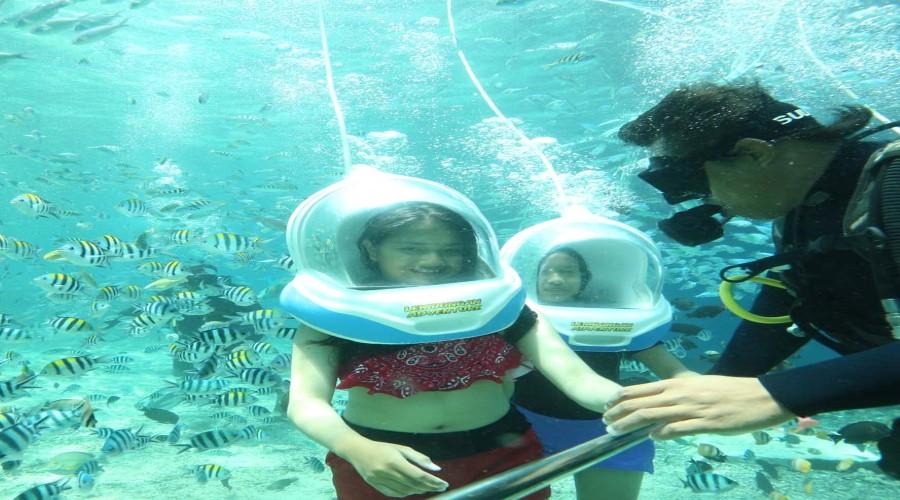 PROMO TERBARU Bali Marine Walk, Nikmati Paket Promo Berjalan dan Menikmati Keindahan Dasar Laut Nusa Lembongan