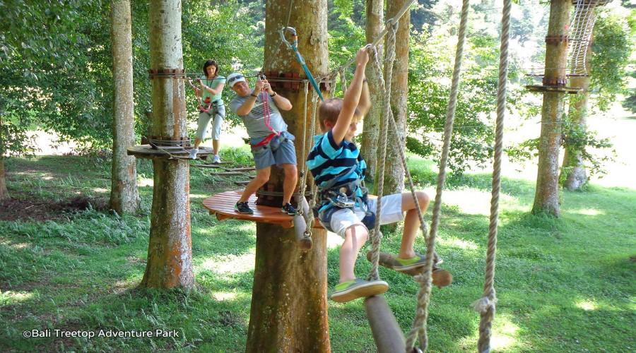 Jual Voucher Murah Bali Treetop, Wisata Outbound di Kebun Raya Bedugul