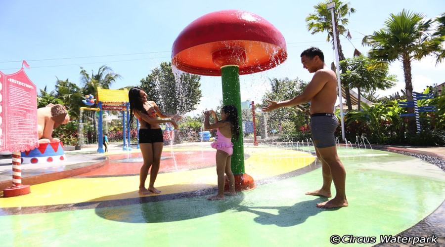 Hot Promo!! Jual Tiket Murah Circus Waterpark, Salah Satu Wahana Wisata Air Terbaik di Bali