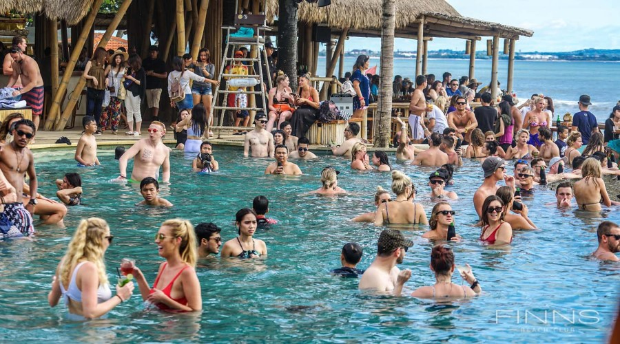 Jual Tiket Promo Terbaru Finns Bali, Berwisata Seru ke Finns Beach Club, Splash Waterpark, Bounce Bali, dan Strike Bowling, Pesan Online Harga Lebih Hemat!