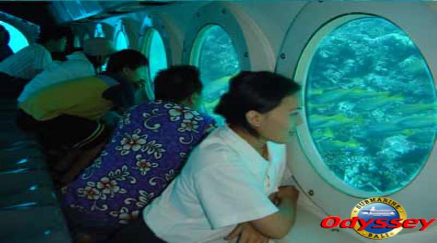 Paket PROMO Wisata Odyssey Submarine, Menikmati Keindahan Wisata Dasar Laut Bali