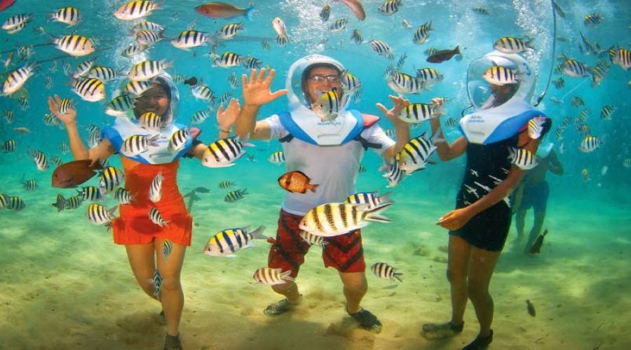 Promo Terbaru Bali Hai Aquanauts! Berjalan dan Menikmati Keindahan Dasar Laut di Lembongan, Nikmati Paket Promo Aquanauts Bersama Bali Hai Cruise