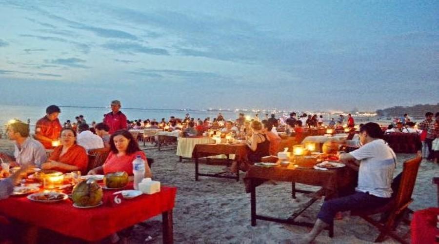 Promo Terbaru! Dinner Seafood Jimbaran, Dinner Spesial di Gekko The Ocean Bali, Nikmati Dinner Romantis di Pantai Jimbaran