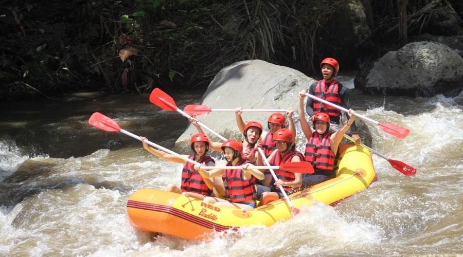 Harga Promo Ayung Rafting Bersama Bali Red Paddle Adventures!