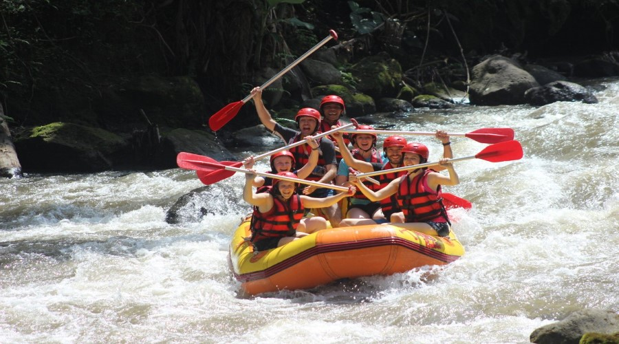 Promo Terbaik, Voucher Murah Ayung Rafting Red Paddle Adventures!