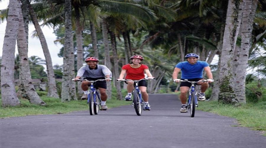 Penawaran Terbaik Bali Sobek! Promo Batur Adventure Cycling, Menikmati Wisata Bersepeda Sambil Menikmati Pemandangan Gunung Batur