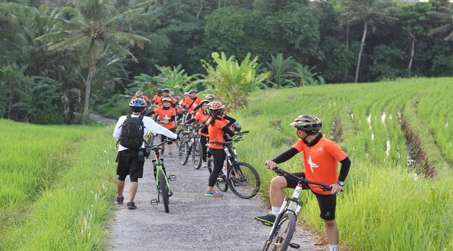 Tista Fun Bike Adventure 2018, Nikmati Keseruan Wisata Bersepeda di Desa Wisata Tista, Tabanan!