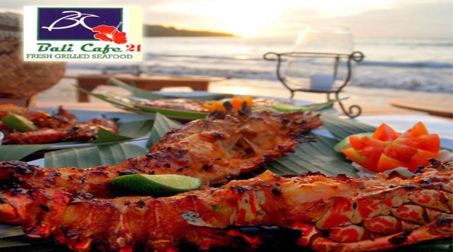 Nikmati Diskon Spesial Dinner Seafood Jimbaran di Bali Cafe 21