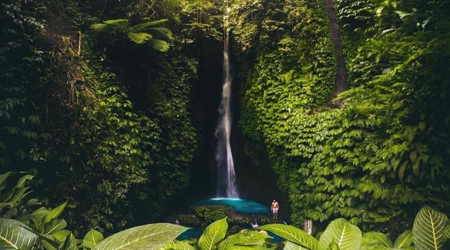 Berwisata ke Objek Wisata Leke Leke Waterfall, Wisata Air Terjun Tersembunyi di Bali