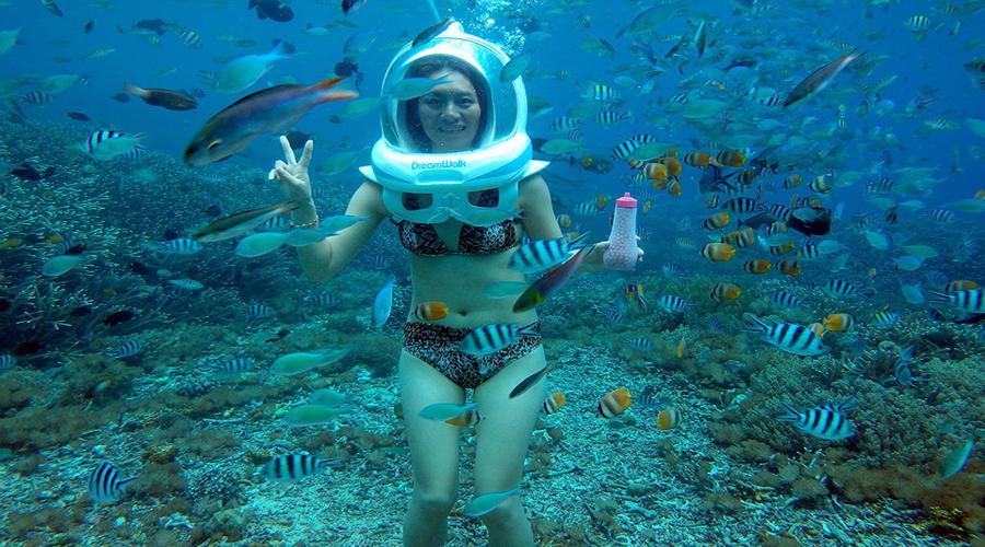 Voucher Bali Dream Walk | Wisata Seawalker Lembongan | Jaminan Harga Promo Termurah!